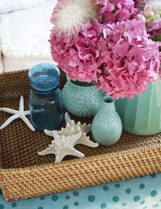 great colour for summer decor
