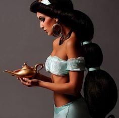 Yasmin alladin hair lovely pony tail