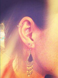 #cartilage #piercing