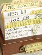 libraries, calendar journal, daily journal, journals, art, box, drawers, journal cards, daili calendar
