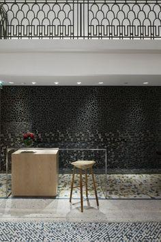Hermes Boutique, Paris, designed by RDAI