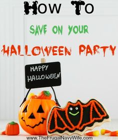 How to Save on Your Halloween Party - I love Halloween but if i'm not careful it can blow my budget! Here are some great ways to save on your Halloween Party!