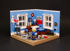 Fun little Lego rooms