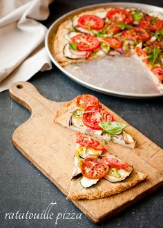 Ratatouille Pizza (Gluten-Free and Dairy-Free)
