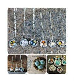 DIY Jewelry DIY Necklace DIY Wire Wrapped Birds Nest Necklace Tutorial