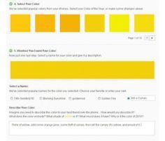 canary color scheme
