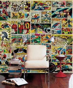 Avenger - Comic Strip - Wall Mural  Photo Wallpaper - Photowall