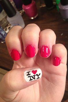 I ❤ NY nails