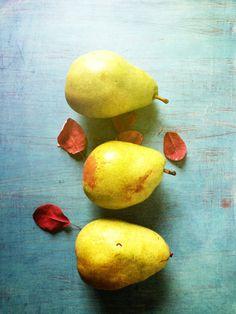 Three Pears Art Print