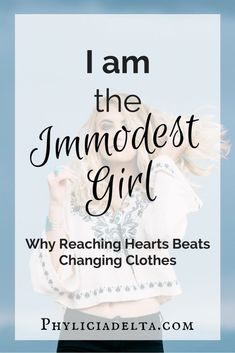 I am the Immodest Gi