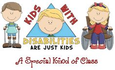 Class with severe physical and speech disabilities