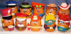 (McNugget Buddies #80s #childhood.) McDonald's happy meal toys