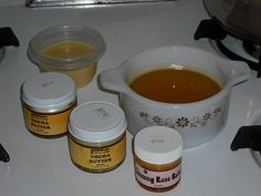 DIY lotion bar tutorial