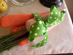 Fabric carrots