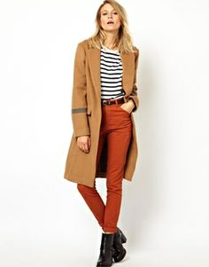 ASOS Knee Length Over Coat