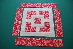 Hyacinth Quilt Designs: Winner and the block