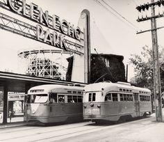 DC Transit PCCs at Glen Echo Park.