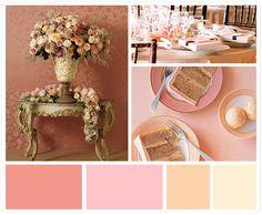 Champange & Vintage colors
