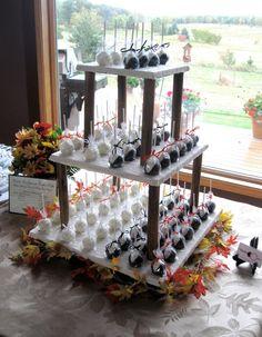 Wedding Cake Pops  Bride and Groom Taste Samples by AndrewsTreats, $14.00