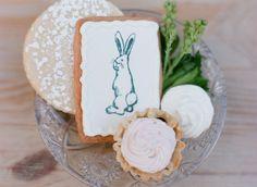 #cookies, #baby-shower, #rabbit, #velveteen-rabbit, #bunny, #dessert  Photography: Buffy Dekmar Photography - buffydekmar.com  Read More: http://www.stylemepretty.com/living/2013/10/18/velveteen-rabbit-baby-shower-by-simply-charming-socials/