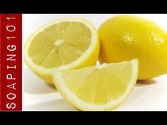 ▶ Making Cold Process Citrus Soap {from whole lemons} - YouTube