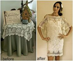 Trash To Couture: Before & After