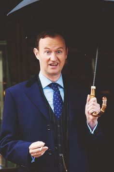 ~That's not gonna work on me this time, Gatiss. You being adorable will not erase the heartache you've wrought!~<----Shhh it's his troll face.