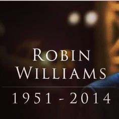 RiP to the talented Robin Williams..it's hard to fathom the pain one may be going through that would make them resort to suicide. Communicate with your loved ones, be a shoulder to lean on and lend a genuine ear to listen..#thatsallfolks
