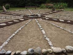 Medicine Wheel Garden in Maine