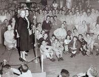 Ann Southern & Louella Parsons at the Hollywood Canteen
