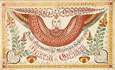 Swirl Artist School, Fraktur Bookplate $30,000
