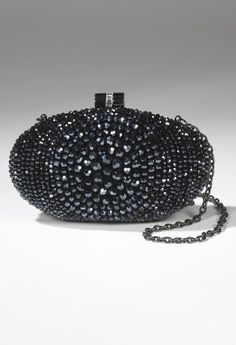 Handbags - Clutch Handbag with Glass Beading from Camille La Vie and Group USA