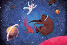 Stella and the Space Bears: Wonderful book that just happens to be an ebook. And we can never resist a geeky heroine.