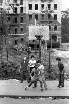 Martha Cooper, playground, NY city streetshots