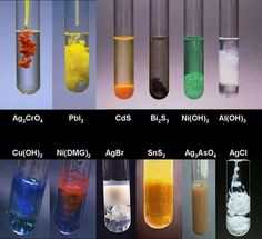 Colorful chemistry.