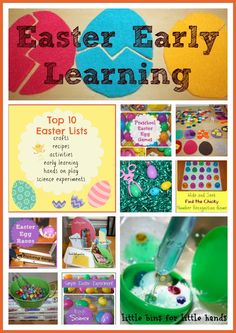 Top 10 Easter Early Learning Activities