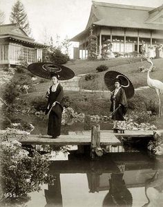 Japanese Garden at the World's Fair, 1904 by Missouri History Museum, via Flickr