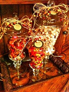 ideas for the candy bar