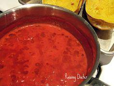Spaghetti Sauce and Squash