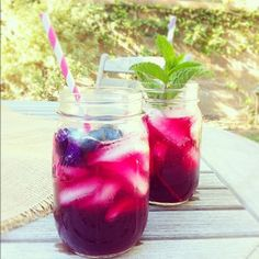 Blueberry Sips | FamilyFreshCooking.com