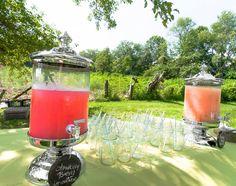 Strawberry Lemonade and Mango Mint Agua Fresca