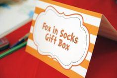 Fox in Socks Gift Box