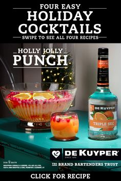 DeKuyper: Pinterest Feed | The Cocktail Project