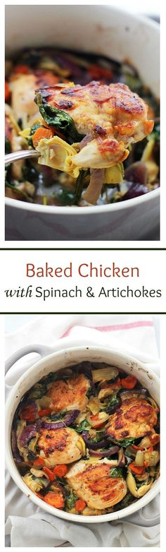 Baked Chicken with S