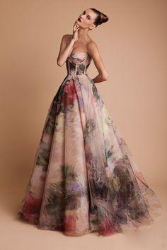 Rani Zakhem - Floral Wedding Gown