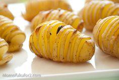 #Garlic Hasselback #Potato #Recipe