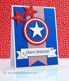 Love the Captain America inspiration!