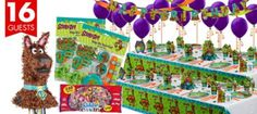 Scooby Doo Party Supplies Ultimate Kit - Boys Birthday Party Themes - Boys Birthday - Birthday Party Supplies - Categories - Party City