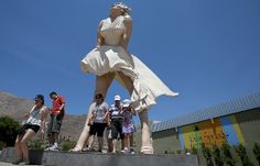 After liking it hot in Palm Springs, Marilyn Monroe statue moving on