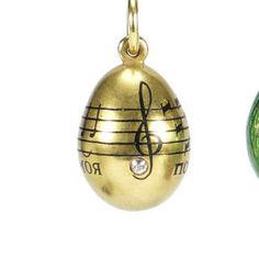 egg pendant, faberg egg